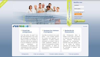 Zentreprendre.com, réseau social d'aide création d'entreprise en France