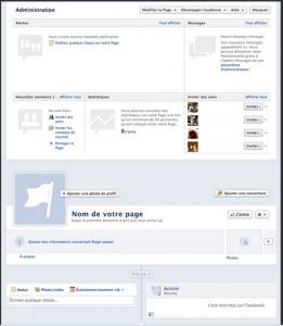 page facebook entreprise