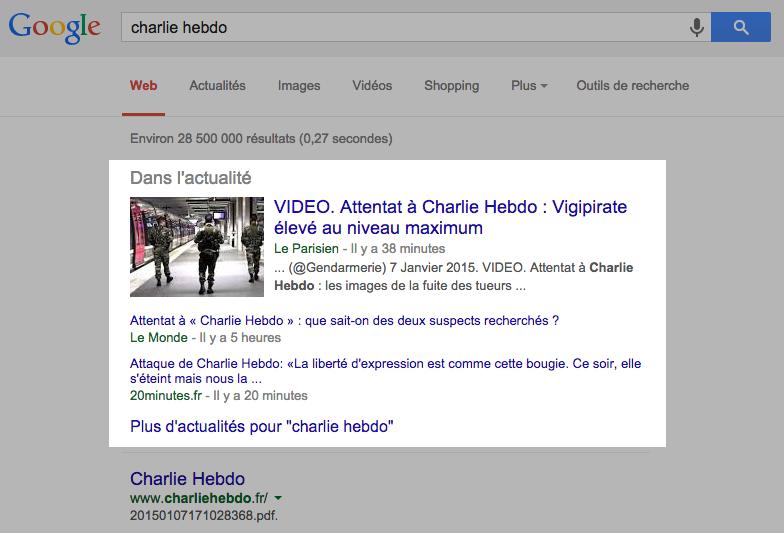 actu google news